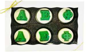 Sorority/Fraternity Letters Chocolate Covered Oreos