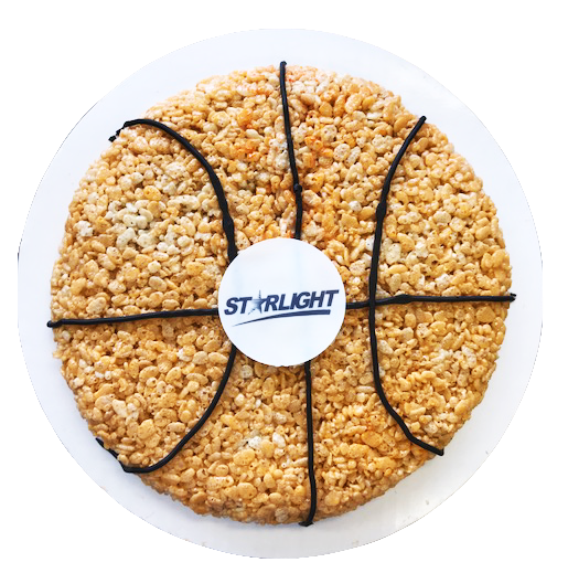 Rice Krispy Treat Basketball