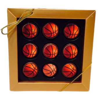 Mini Chocolate Covered Oreo Basketballs Gift Box