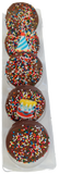 """Happy Birthday"" Chocolate Covered Oreos"
