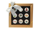"""Happy Birthday"" Mini Chocolate Covered Oreos Gift Box"