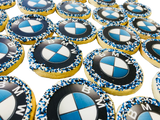 BMW Sugar Cookies with Nonpareils