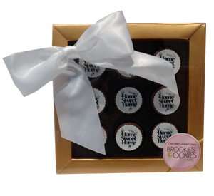"""Home Sweet Home"" Mini Chocolate Covered Oreos Gift Box"