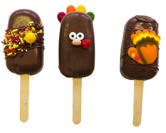 Thanksgiving Cakesicles