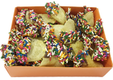 Passover Potato Chips with Chocolate and Sprinkles