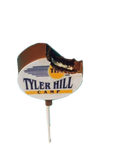 Chocolate Covered Oreo Lollipop With Camp Logo