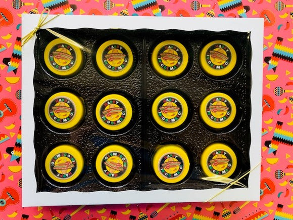 Happy Cinco de Mayo Image Chocolate Covered Oreo Gift Box
