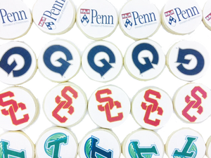 Customized College Logo Sugar Cookies