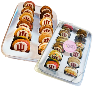 College Logo Assortment Cookie Sandwiches