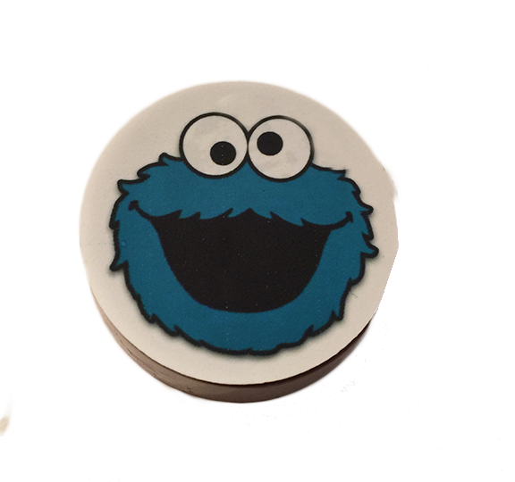 Cookie Monster Chocolate Covered Oreo