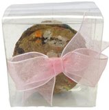 Cookie Sandwich Single Pack with Label and Organza Bow