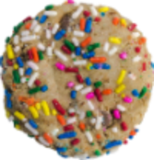 Chocolate Chip Cookie with Sprinkles