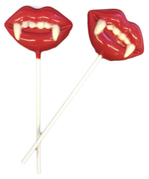 Dracula Chocolate Pops