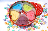Valentine's Day Chocolate Covered Oreo Conversation Hearts