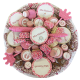 """It's A Girl"" Cookie and Treat Platter"