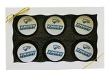 Customized College Mascot Chocolate Covered Oreos Gift Box