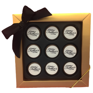 """Happy Father's Day"" Mini Chocolate Covered Oreos Gift Box"