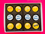 """Feel Better"" Chocolate Covered Oreo Gift Box - Get Well Soon"