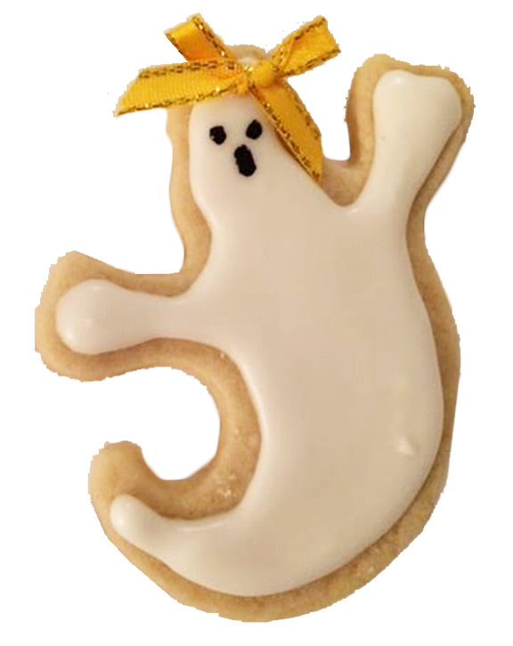 Friendly Ghost Cookies