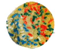 Mixed Holiday Sugar Cookies With Sprinkles