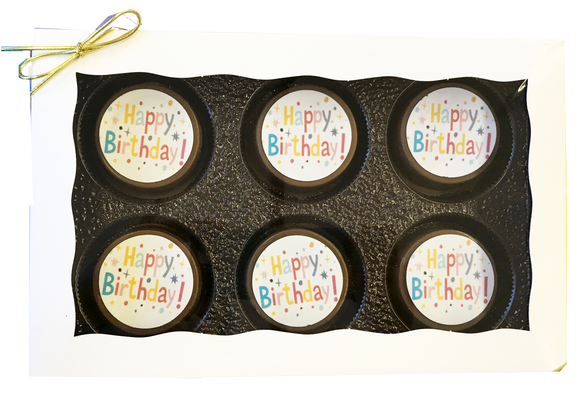 Happy Birthday Chocolate Covered Oreo Gift Box