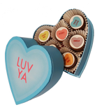 Mini Chocolate Covered Oreos Conversation Heart Gift Box