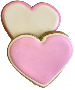 Heart Shaped Sugar Cookies (Valentine's Day Gift)