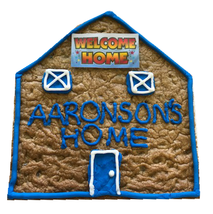 Welcome Home Cookie Cake