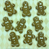 3 Pack Emotional Gingerbread Man Cookies & How-To Guide