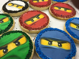 LEGO Ninjago Sugar Cookies with Nonpareils