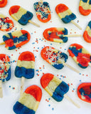 July 4th Cookiesicles