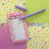 To-Do List Cookie with Edible Ink Pen