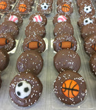 Sports-Themed Chocolate Covered Oreos Gift Box