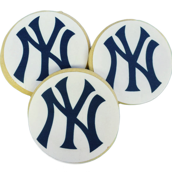 NY Yankees Sugar Cookies