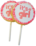 It's a Girl! Cookie Pops