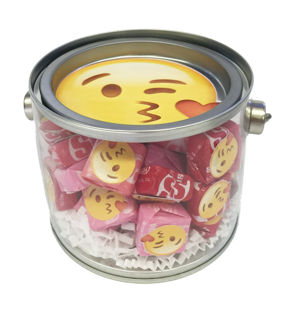Kiss Emoji Candy Jar