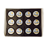 Chocolate Covered Oreos Gift Box with Logo 12 pack