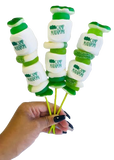 Customized Camp Logo Candy Kabobs