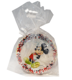 Mickey Mouse Sugar Cookies with Nonpareils