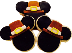 Pilgrim Mickey Cookies