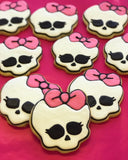 Monster High Sugar Cookies