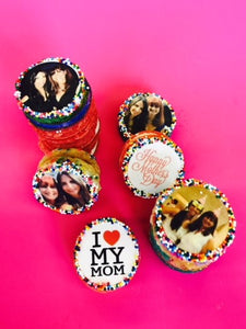 Custom Image Mother's Day Cookie Sandwiches