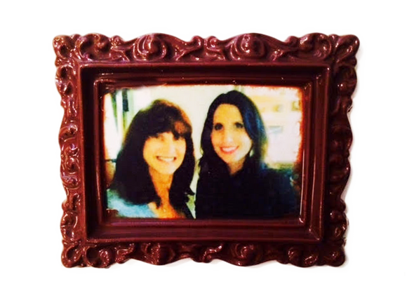 Mother's Day Custom Chocolate Picture Frame with Image