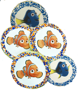 Nemo and Dory Sugar Cookies