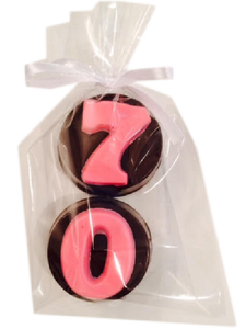 "Custom ""Age"" Chocolate Covered Oreos"