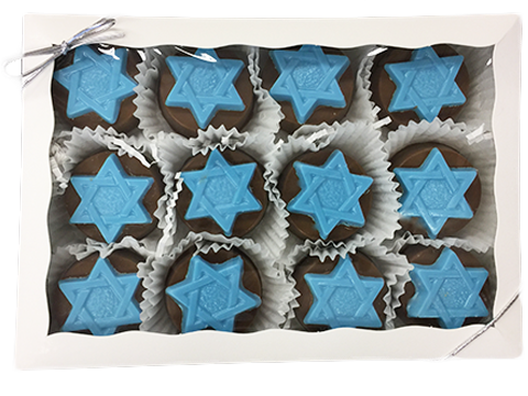 Star of David Chocolate Covered Oreo Gift Box
