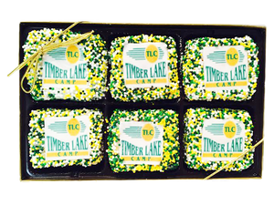 Rice Krispy Treats with Logo - 6 Pack
