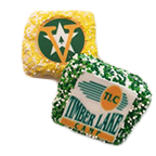 Individual Rice Krispy Treats with Logo