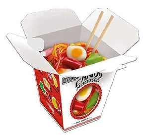 Gummy Candy Noodles In Takeout Carton