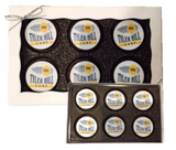 Chocolate Covered Oreos Gift Box with Logo 6 pack